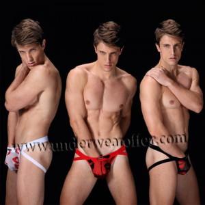 New Sexy Men's Colorful See-through Mesh Bikinis Tanga Thong Underwear Bulge Pouch Jockstrap T-back  For Choose MU959