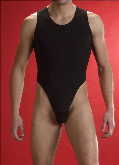 Men S Sexy Mesh Sheer Stretch Bodysuit Underwear S L Mu518