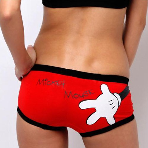 New Mickey Mouse Women's Girls Underwear shorts KT17