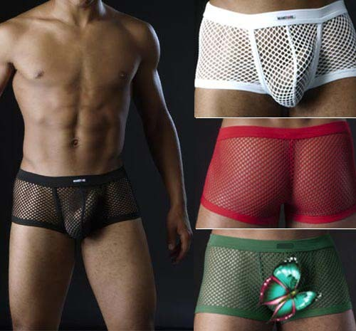 Sexy Mens big Mesh Underwear boxers Briefs MU76 1146061a021b