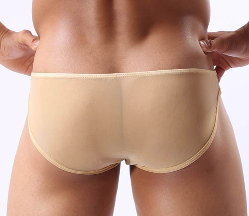 Men S Sexy See Through Mesh Low Rise Underwear Bulge Small