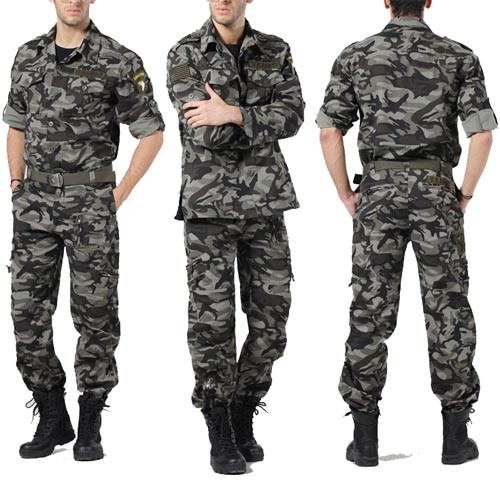 men s military bdu pants coat army cargo fatigue camouflage camo